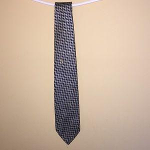 Men's Christine Dior silk necktie